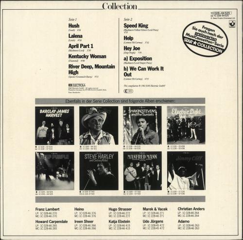 Deep Purple Collection vinyl LP album (LP record) German DEELPCO729963