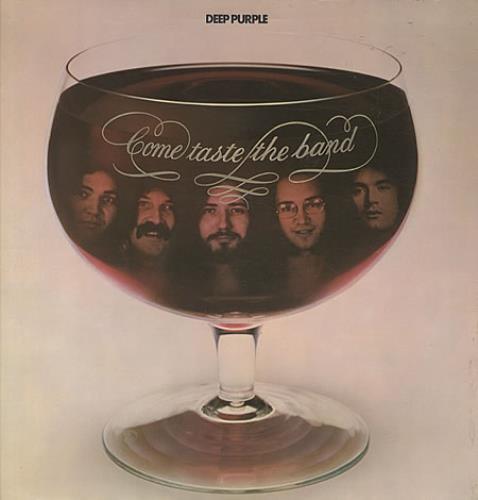 Deep Purple Come Taste The Band - 1st - VG vinyl LP album (LP record) UK DEELPCO565284
