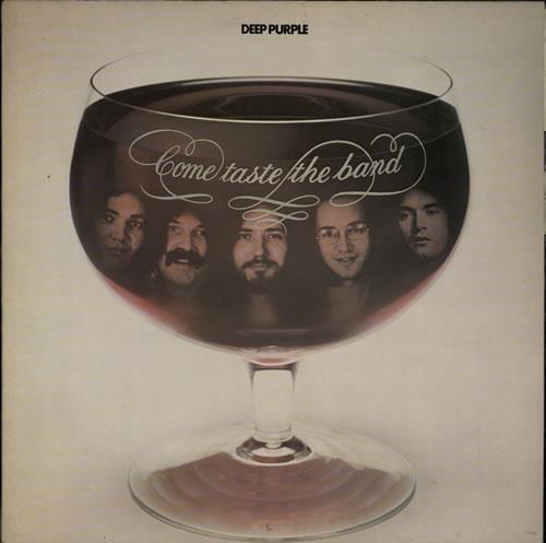 Deep Purple Come Taste The Band - 2nd - EX vinyl LP album (LP record) UK DEELPCO611341