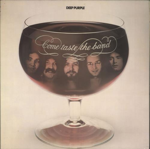 Deep Purple Come Taste The Band - 2nd vinyl LP album (LP record) UK DEELPCO559028