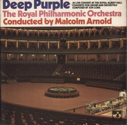 Deep Purple Concerto For Group And Orchestra - 2nd - VG+ vinyl LP album (LP record) UK DEELPCO746500
