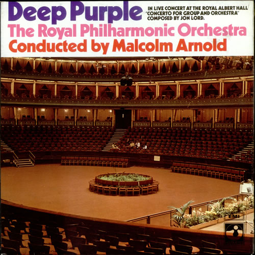 Deep Purple Concerto For Group And Orchestra - 3rd vinyl LP album (LP record) UK DEELPCO523544