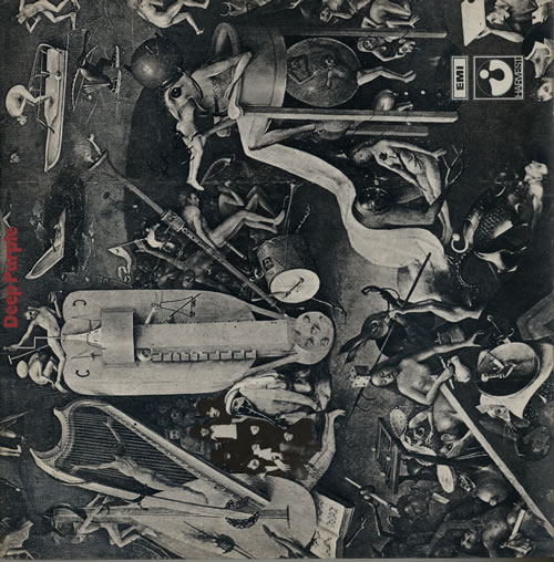 Deep Purple Deep Purple - 1st - VG vinyl LP album (LP record) UK DEELPDE567537