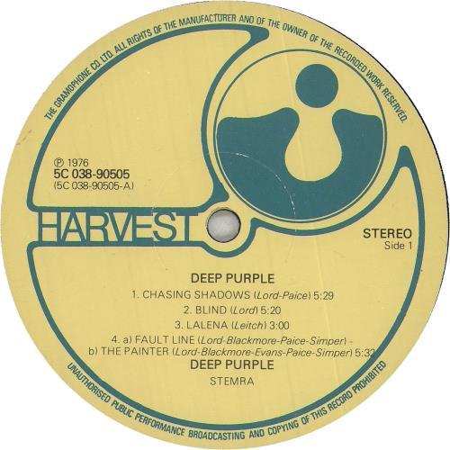 Deep Purple Deep Purple vinyl LP album (LP record) Dutch DEELPDE744469