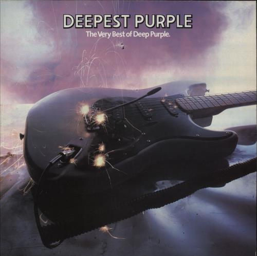 Deep Purple Deepest Purple - 2nd vinyl LP album (LP record) UK DEELPDE657339