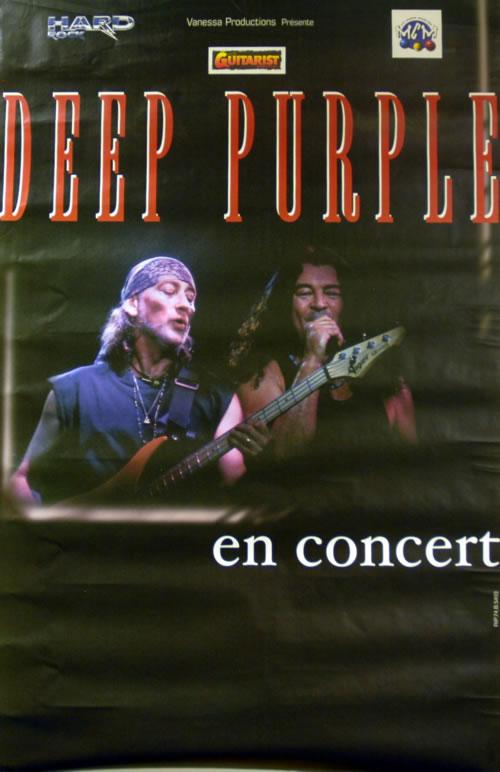 Deep Purple En Concert poster French DEEPOEN202523