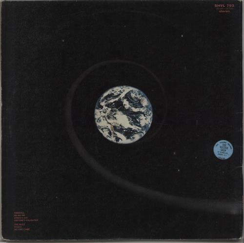 Deep Purple Fireball - 1st + Insert - EX vinyl LP album (LP record) UK DEELPFI546565