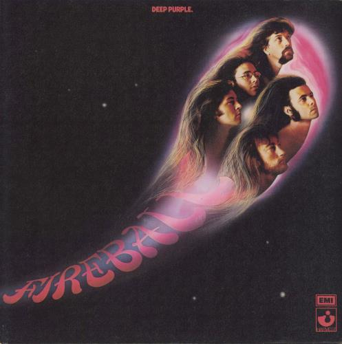 Deep Purple Fireball - 1st - VG vinyl LP album (LP record) UK DEELPFI711153