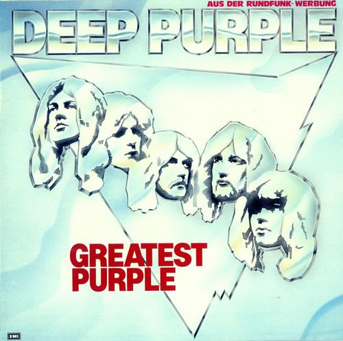 Deep Purple Greatest Purple 2-LP vinyl record set (Double Album) German DEE2LGR106313