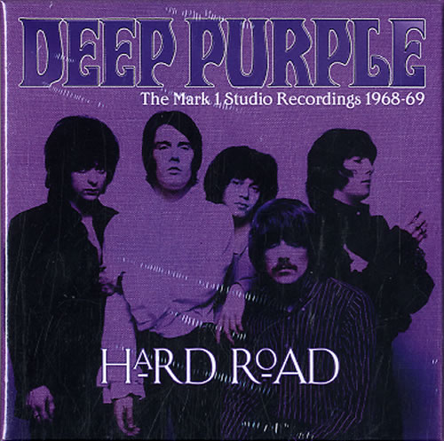 Deep Purple Hard Road: The Mark 1 Studio Recordings 1968-69 5-CD album set UK DEE5CHA609391