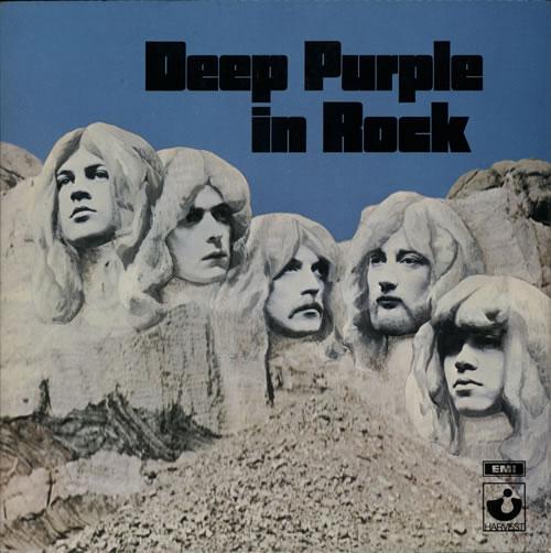 Deep Purple In Rock - 1st - EX vinyl LP album (LP record) UK DEELPIN133567
