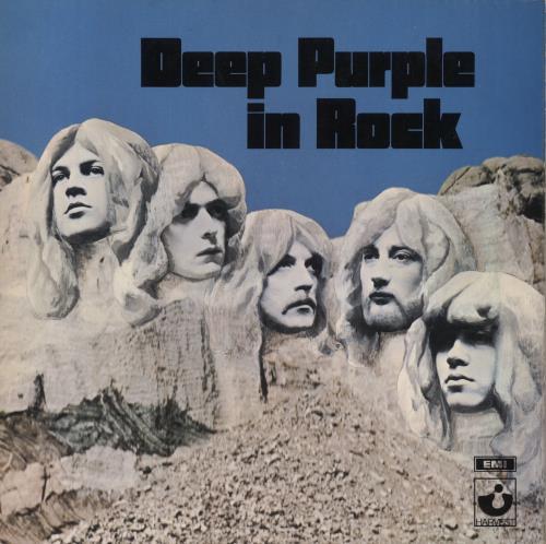Deep Purple In Rock - 1st - VG vinyl LP album (LP record) UK DEELPIN284637