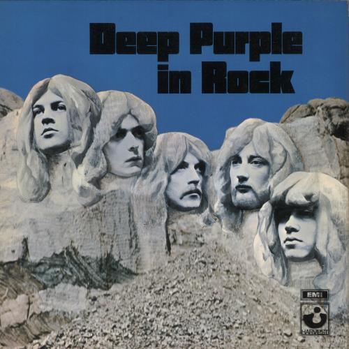 Deep Purple In Rock - 3rd - EX vinyl LP album (LP record) UK DEELPIN311250