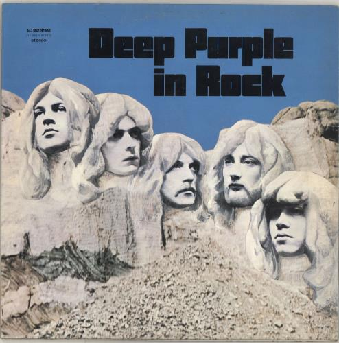 Deep Purple In Rock vinyl LP album (LP record) Dutch DEELPIN710460