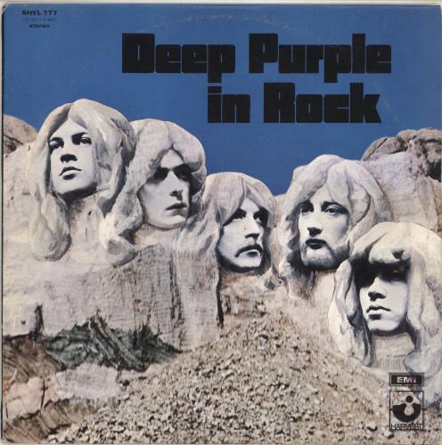 Deep Purple In Rock vinyl LP album (LP record) Hong Kong DEELPIN714753