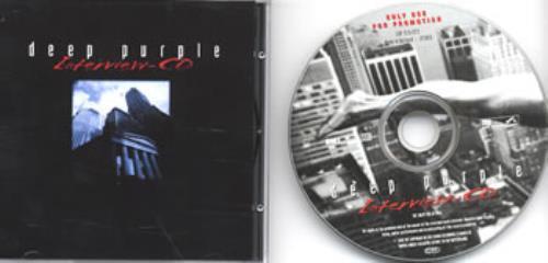 Deep Purple Interview CD CD album (CDLP) Swiss DEECDIN132883