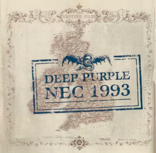 Deep Purple Live At The NEC 1993 - Sealed 2 CD album set (Double CD) UK DEE2CLI770058