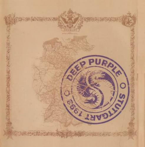 Deep Purple Live In Stuttgart 1993 - Sealed 2 CD album set (Double CD) UK DEE2CLI770059