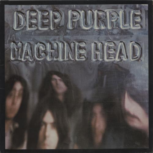 Deep Purple Machine Head - 1st + Insert - EX vinyl LP album (LP record) UK DEELPMA56701