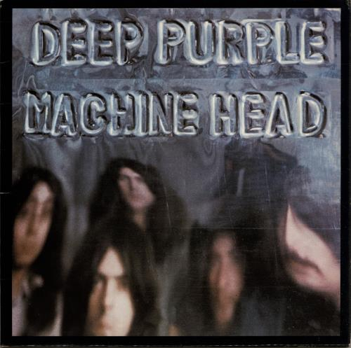 Deep Purple Machine Head - 1st + Insert vinyl LP album (LP record) UK DEELPMA546064