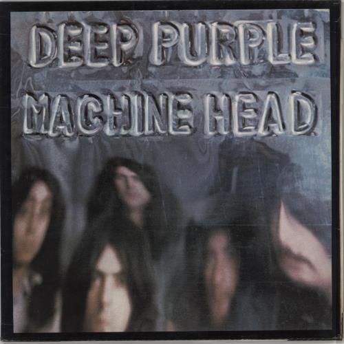 Deep Purple Machine Head - 2nd + Insert vinyl LP album (LP record) UK DEELPMA352564