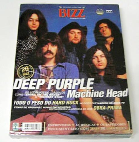 Deep Purple Machine Head - Classic Albums DVD Brazilian DEEDDMA352799