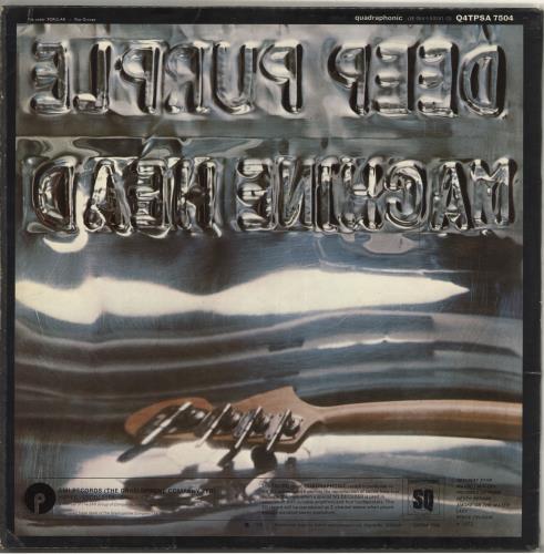 Deep Purple Machine Head - Quadraphonic vinyl LP album (LP record) UK DEELPMA706302