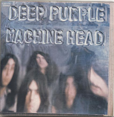 Deep Purple Machine Head vinyl LP album (LP record) Italian DEELPMA710524