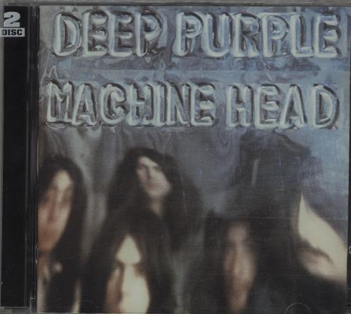 Deep Purple Machine Head 2 CD album set (Double CD) UK DEE2CMA93966