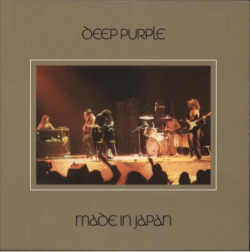 Deep Purple Made In Japan - 180gm Purple Vinyl 2-LP vinyl record set (Double Album) UK DEE2LMA739872