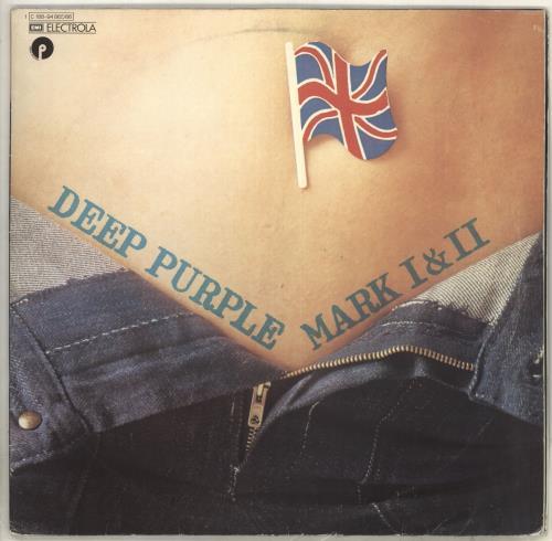 Deep Purple Mark I & II 2-LP vinyl record set (Double Album) German DEE2LMA115477