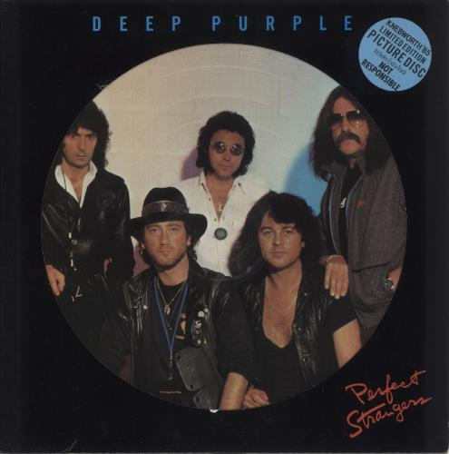 Deep Purple Perfect Strangers - EX picture disc LP (vinyl picture disc album) UK DEEPDPE567026