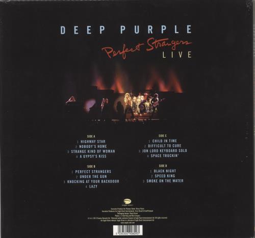 Deep Purple Perfect Strangers Live - 180gm - Sealed 2-LP vinyl record set (Double Album) UK DEE2LPE715506