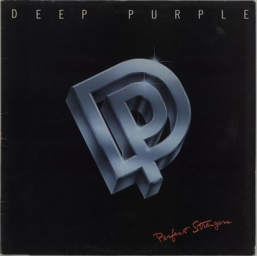 Deep Purple Perfect Strangers vinyl LP album (LP record) UK DEELPPE56866