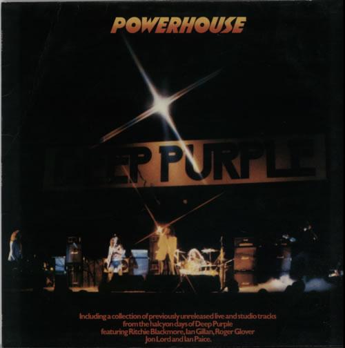 Deep Purple Powerhouse vinyl LP album (LP record) UK DEELPPO115686