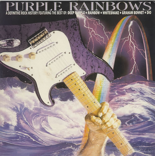 Deep Purple Purple Rainbows vinyl LP album (LP record) UK DEELPPU120995