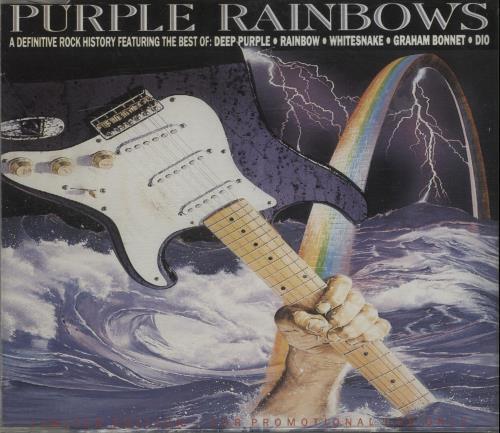 "Deep Purple Purple Rainbows CD single (CD5 / 5"") UK DEEC5PU57996"