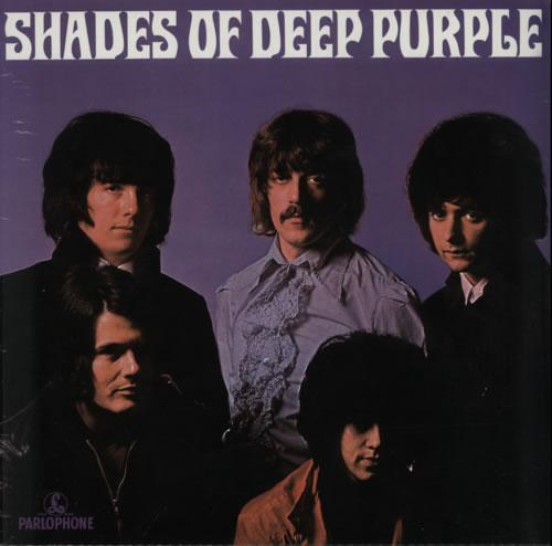 Deep Purple Shades Of Deep Purple - RSD14 - Purple Vinyl vinyl LP album (LP record) UK DEELPSH602715