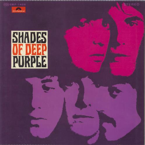 Deep Purple Shades Of Deep Purple vinyl LP album (LP record) Japanese DEELPSH125832