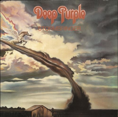 Deep Purple Stormbringer - Barcoded vinyl LP album (LP record) UK DEELPST496118