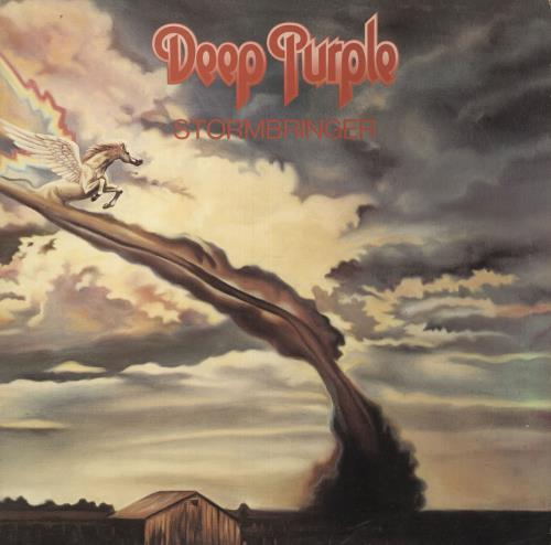 Deep Purple Stormbringer - VG vinyl LP album (LP record) UK DEELPST742359