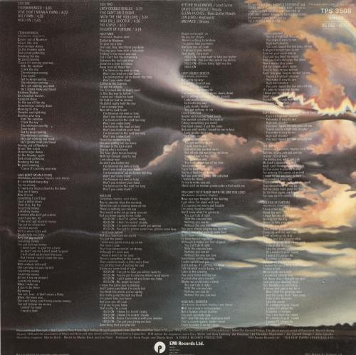 Deep Purple Stormbringer vinyl LP album (LP record) UK DEELPST553460