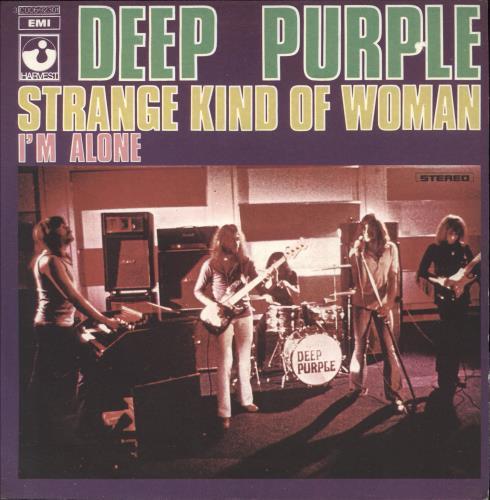 "Deep Purple Strange Kind Of Woman 7"" vinyl single (7 inch record) Italian DEE07ST744854"