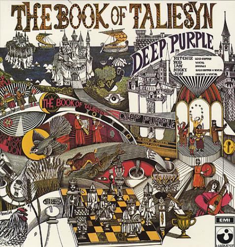 Deep Purple The Book Of Taliesyn - 180g Reissue vinyl LP album (LP record) UK DEELPTH134549