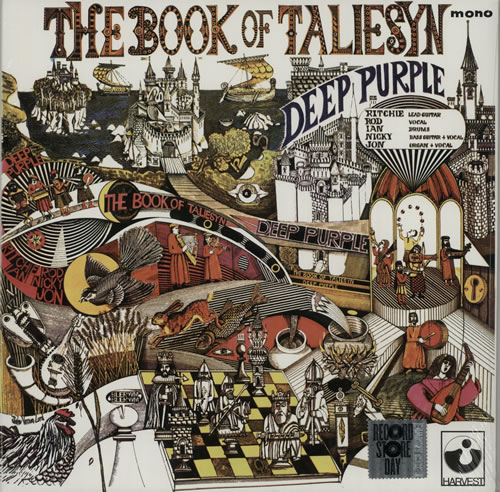 Deep Purple The Book Of Taliesyn - RSD 15 - White Vinyl vinyl LP album (LP record) UK DEELPTH628188
