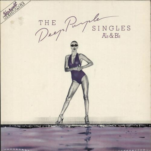 Deep Purple The Deep Purple Singles A's & B's - Purple Vinyl - toc vinyl LP album (LP record) UK DEELPTH745648