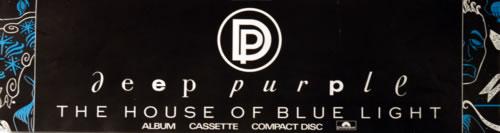 Deep Purple The House Of Blue Light poster UK DEEPOTH622411
