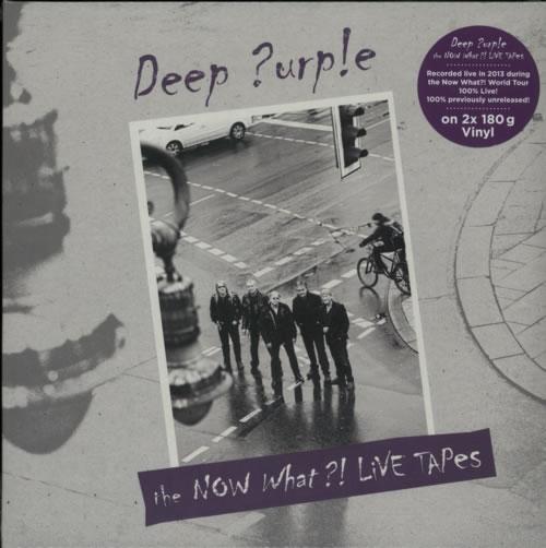 Deep Purple The Now What?! Live Tapes - 180gm Vinyl - Sealed 2-LP vinyl record set (Double Album) German DEE2LTH595412
