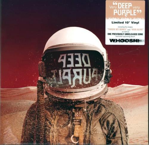 "Deep Purple Throw My Bones/Man Alive 10"" vinyl single (10"" record) UK DEE10TH749027"