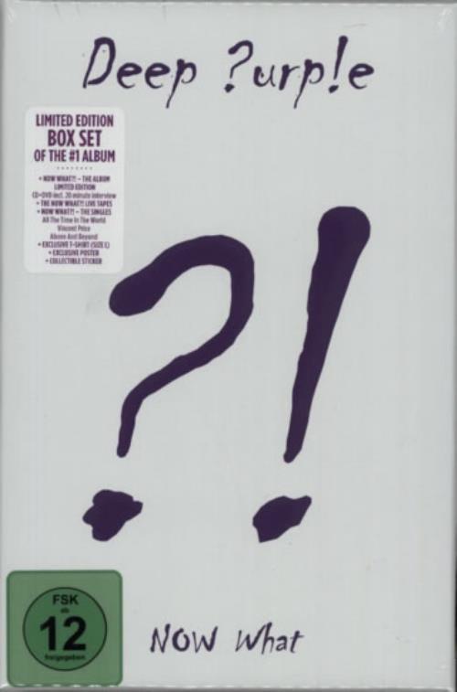 Deep Purple What Now?! CD Single Box Set UK DEECXWH595218